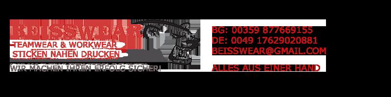 BeissWear – näht/bestickt/bedruckt